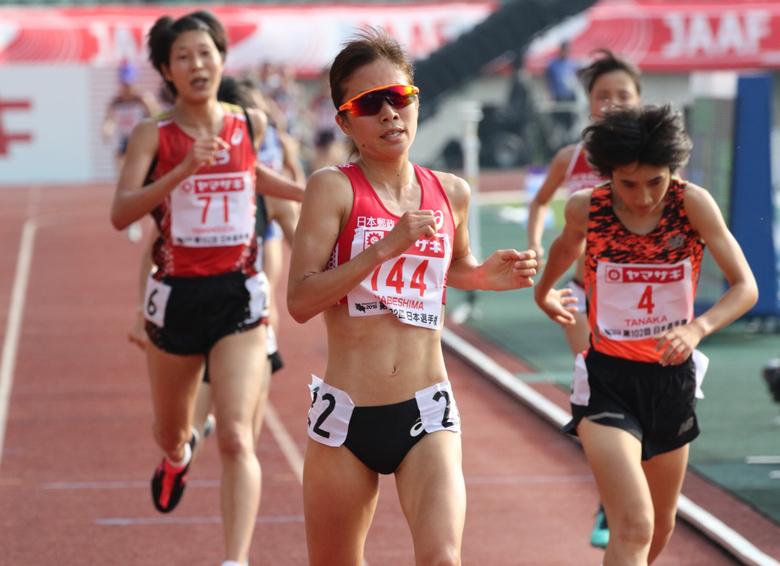 女子5000m