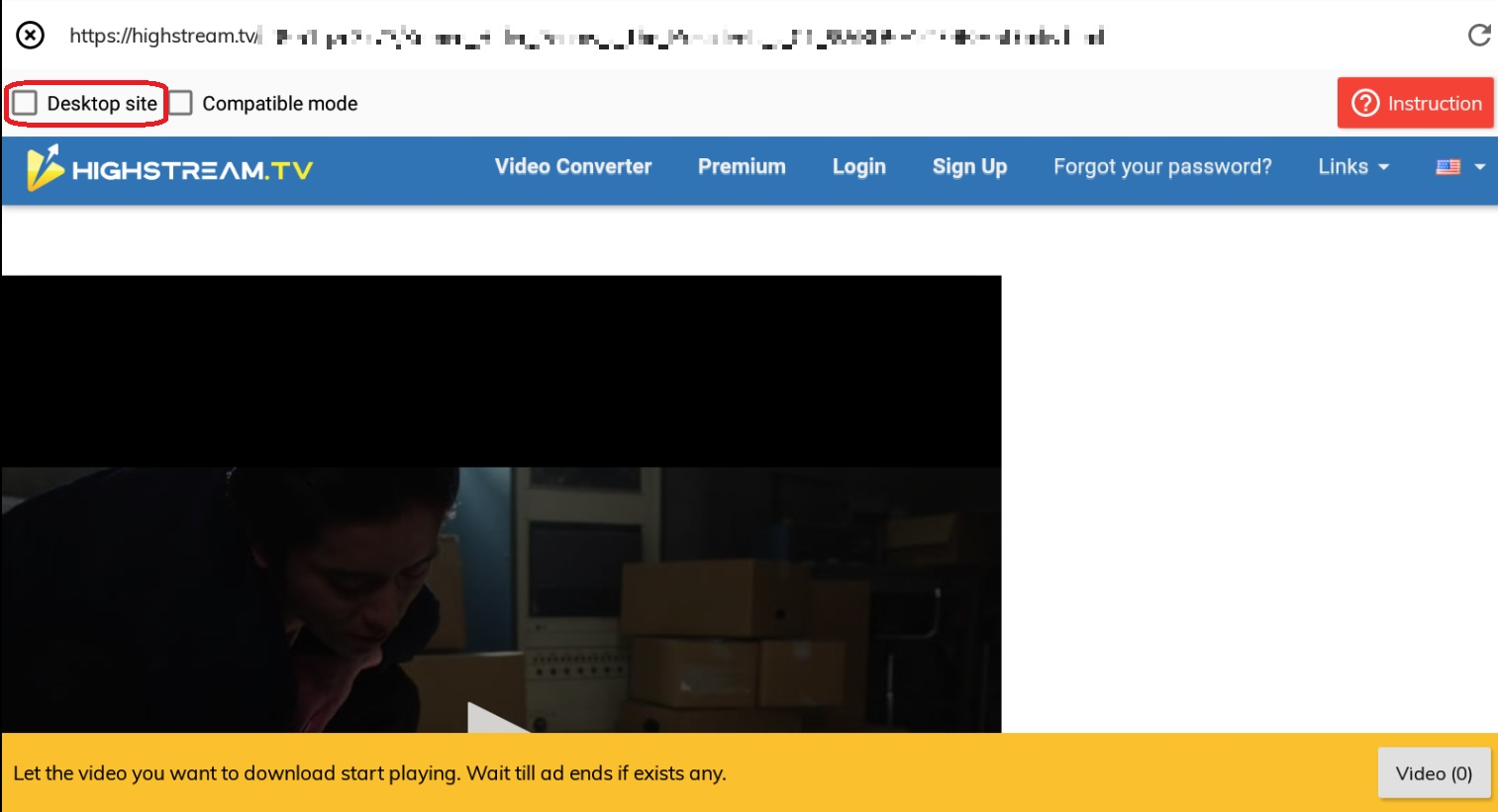 Lj-video-downloaderでHighStreamの動画を保存3-2
