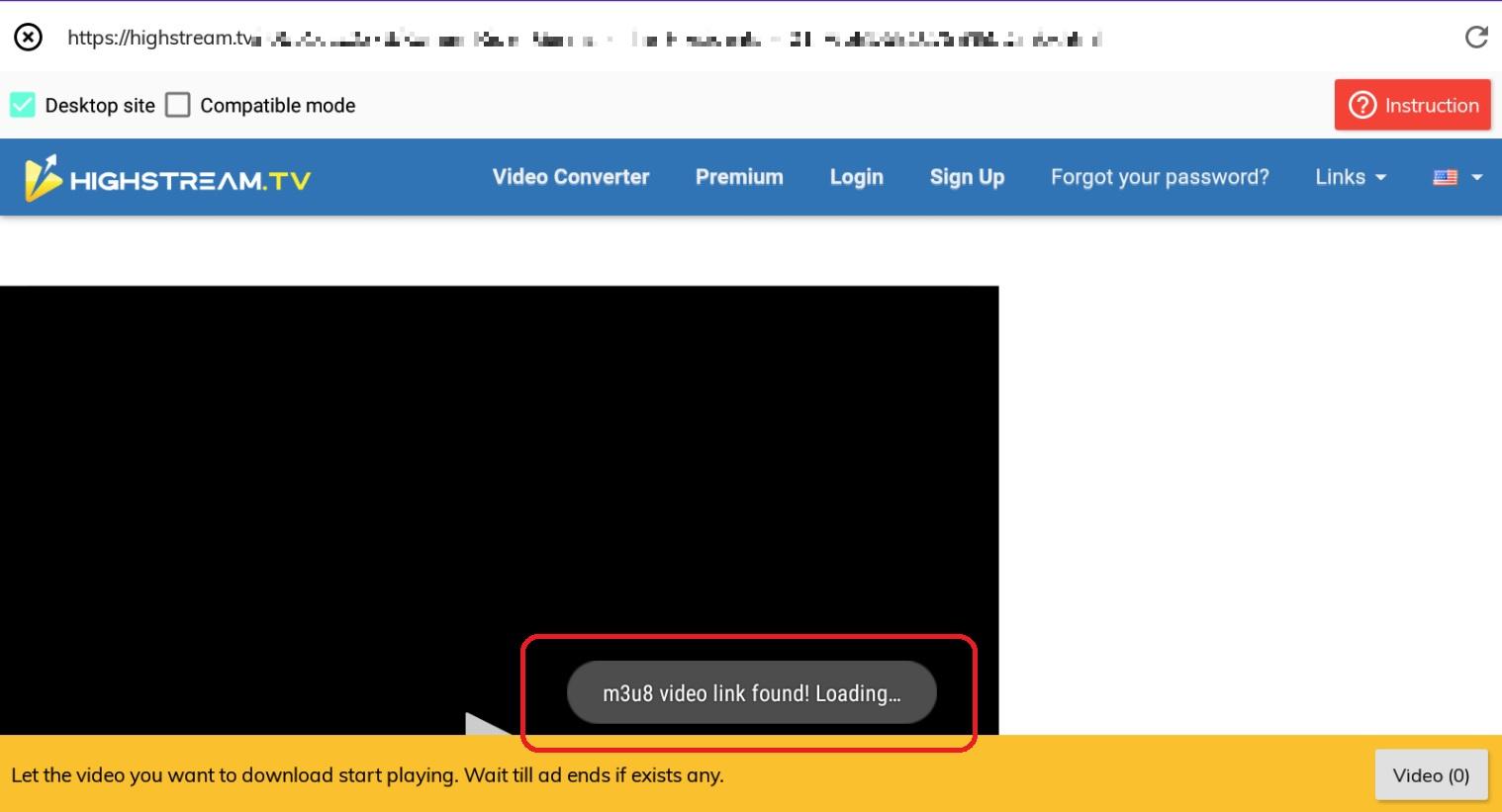 Lj-video-downloaderでHighStreamの動画を保存3-3
